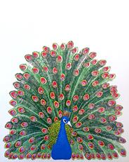 Rullegardin Peacock